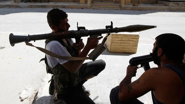 Einheiten der FSA im umkämpften Aleppo, Foto: Reuters