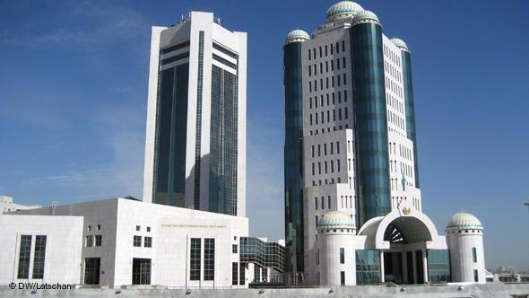 Parlament in Astana; Foto: DW