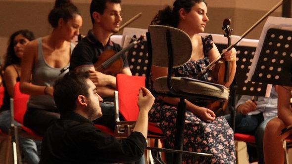 Junge türkische Musiker, Foto: Onur Sezer