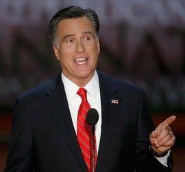 Der republikanische Präsidentschaftskandidat Mitt Romney; Foto: Reuters