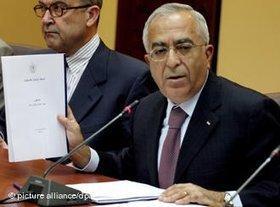 Palestinian Prime Minister Salam Fayyad (photo: dpa)