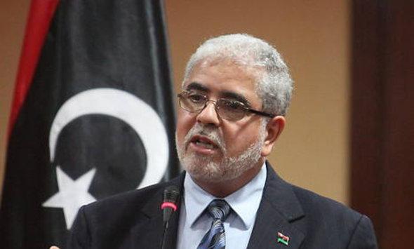 Der libysche Ministerpräsident Abu Shaqur; Foto: Reuters