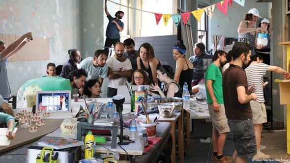 Kunstprojekt Apartman Projesi; Foto: Selda Asal