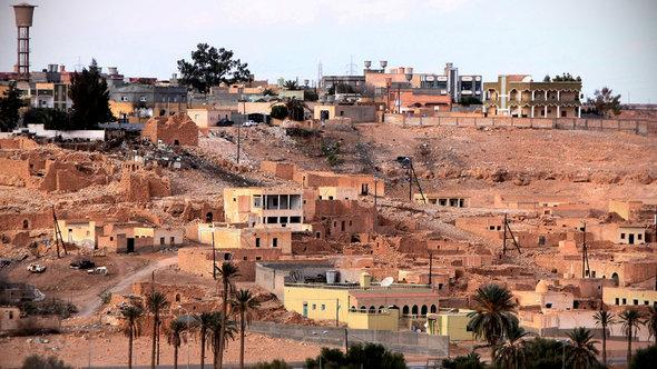 The Libyan town of Bani Walid in January 2012 (photo: Getty Images)