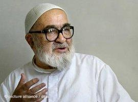 Ayatollah Montazeri in Qom; Foto: dpa