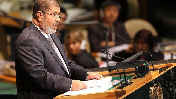 Der ägyptische Präsident Mohammed Mursi; Foto: Getty Images