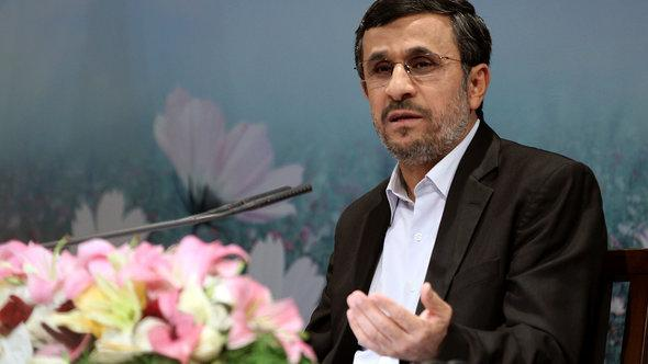 Irans Präsident Ahmadinedschad; Foto: Getty Images