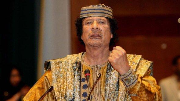 Muammar al-Gaddafi; Foto: picture alliance/dpa