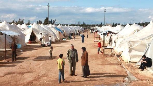 Flüchtlingslager bei Reyhanli in der Provinz Hatay; Foto: Reuters
