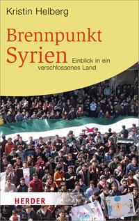 Buchcover Brennpunkt Syrien im Herder-Verlag