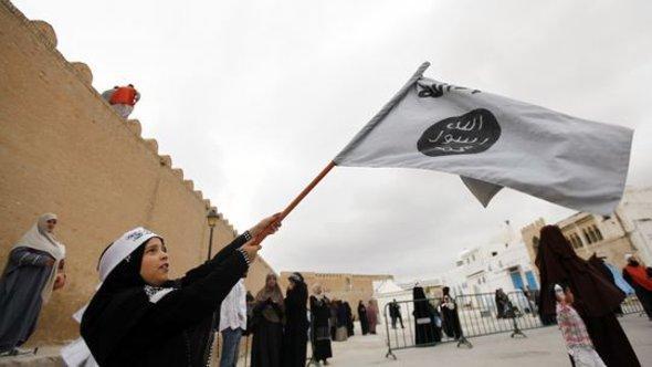 Demo von Salafisten in der tunesischen Stadt Kairouan; Foto: Reuters