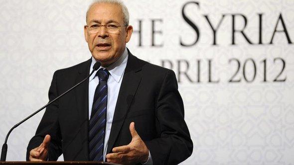 Der ehemalige Vorsitzende des Syrischen Nationalrats, Burhan Ghalioun; Foto: AP