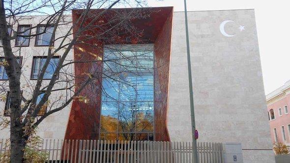 Die neue türkische Botschaft in Berlin; Foto: DW
