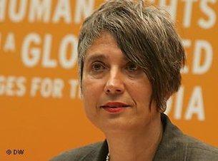 Monika Hauser; Foto: DW
