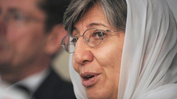 Sima Samar 2011 in Kabul; Foto: AFP/Getty Images