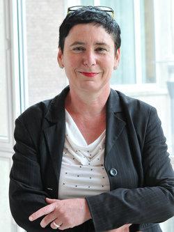 Sigrid Gareis, Generalsekretärin der Akademie der Künste der Welt; Foto: Sigrid Gareis