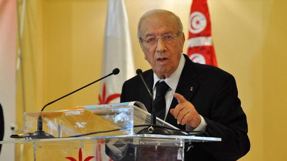 Beji Caid Essebsi; Foto: Sarah Mersch/DW