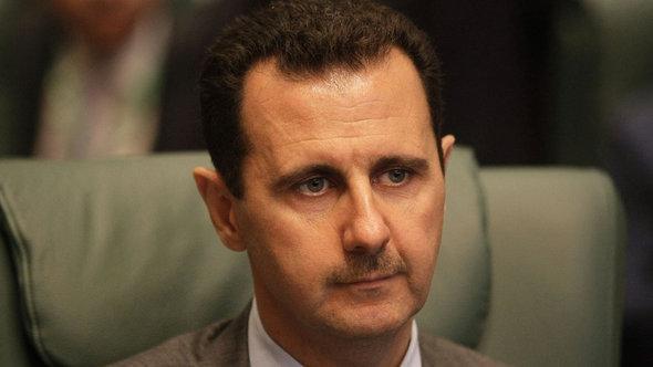 Syriens Präsident Assad; Foto: AFP/Getty Images