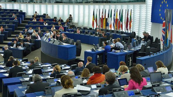 Das Europaparlament tagt in Straßburg; Foto: EU