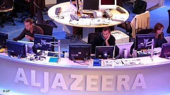 Al-Jazeera Newsroom in Qatar; Foto: AP