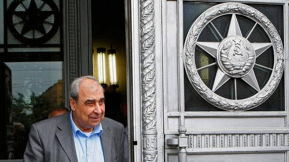 Michel Kilo in Moskau; Foto: AP/dapd