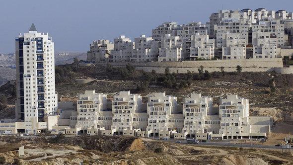 Siedlungsbau in Ostjerusalem, Foto: dpa/picture-alliance