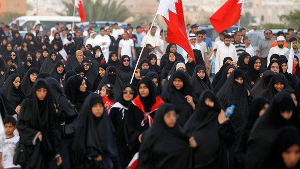Proteste gegen die Regierung, südlich von Bahrains Hauptstadt Manama, Mai 2012; Foto: Reuters/Hamad I Mohammed