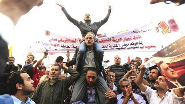 Protest against Egypt's president Mohammed Morsi in Cairo (photo: Reuters)