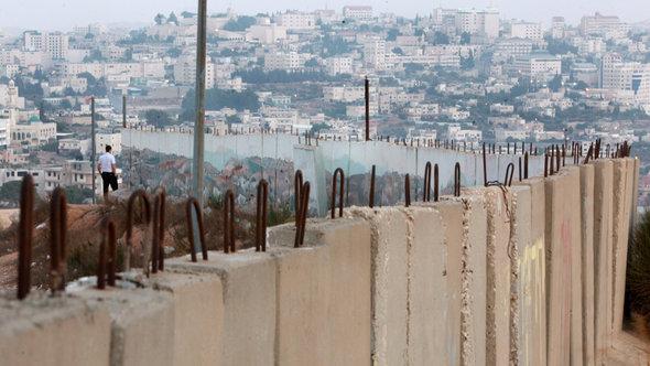 Die Mauer in Südjerusalem; Foto: EPA/Jim Hollander