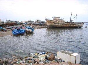 Der Hafen von Zarzis; Foto: Beat Stauffer