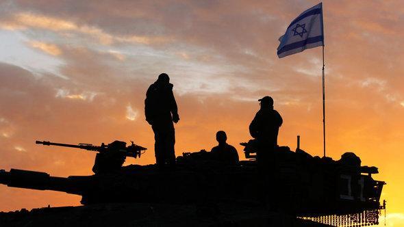Israelische Truppen an der Grenze zum Gaza-Streifen; Foto: Getty Images