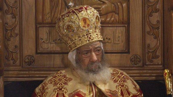 Papst Shenuda III.; Foto: AP