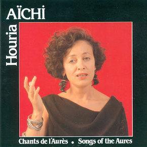 Cover of Houria Aïchi's 'Chants de l'Aurès