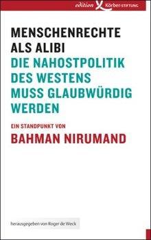 Buchcover Menschenrechte als Alibi von Bahman Nirumand