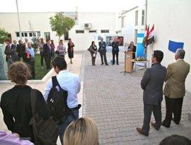 Eröffnung des DAAD Informationszentrums Erbil und der Deutschabteilung an der Sprachenfakultät der Salahaddin Universität Erbil, Foto: © DAAD