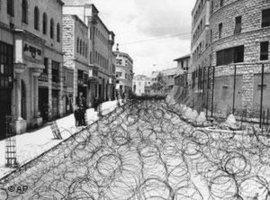 Jerusalem nach dem israelisch-arabischen Krieg 1948; Foto: AP