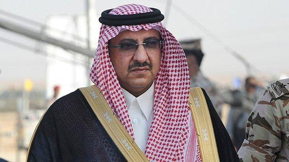 Der saudische Innenminister Mohammed bin Nayef bin Abdelaziz; Foto: AFP