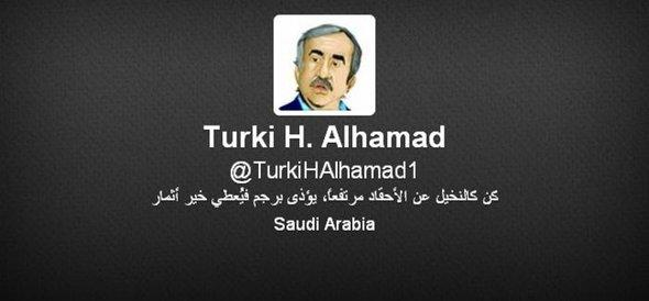 Turki al-Hamads Twitter-Account