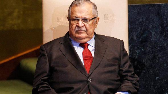 Iraks Präsident Dschalal Talabani; Foto: Reuters