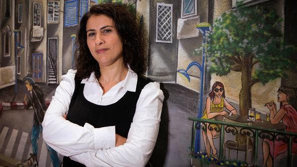 Asma Aghbaria-Zahalka von der Daam-Partei; Foto: Dan Balilty/AP/dapd