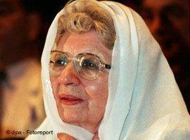 Annemarie Schimmel in Islamabad (Pakistan), Foto: dpa/picture-alliance