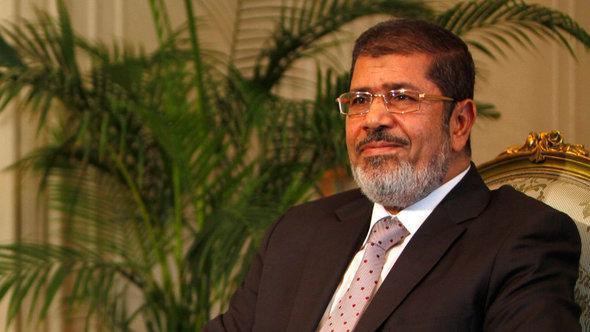 Der ägyptische Präsident Mohammed Mursi; Foto: picture alliance/dpa