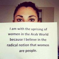 Paola aus dem Libanon; © The uprising of women in the Arab world