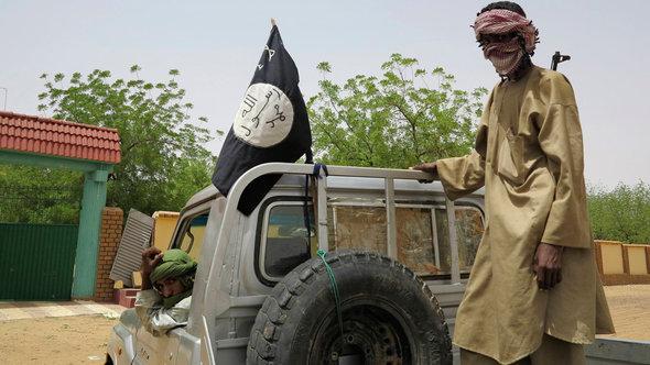 Radikale Islamisten in Gao, Nordmali; Foto: Reuters
