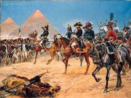 Gemälde von Richard Caton Woodville: Bonaparte in Ägypten