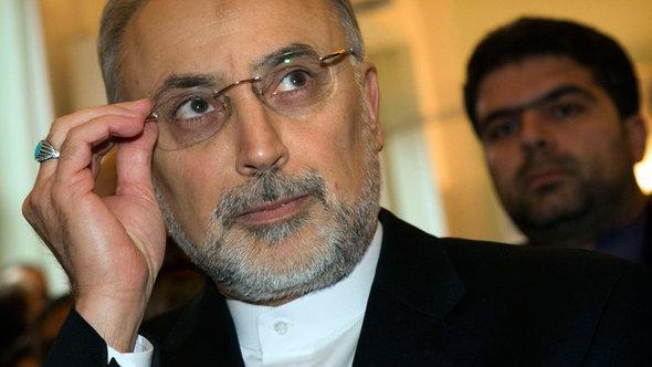 Der iranische Außenminister Ali Akbar Salehi; Foto: Reuters/Thomas Peter