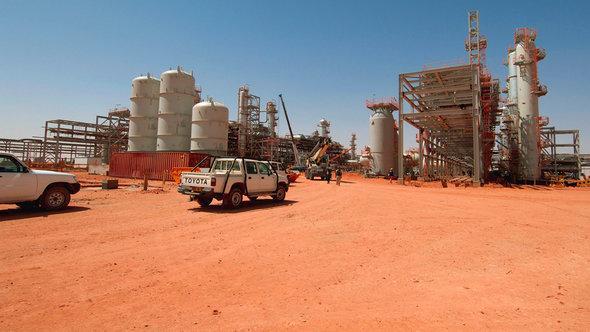 Gasfelder von In Amenas; Foto. Reuters