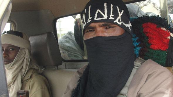 Kämpfer der Ansar Dine in Nordmali; Foto: AFP/Getty Images