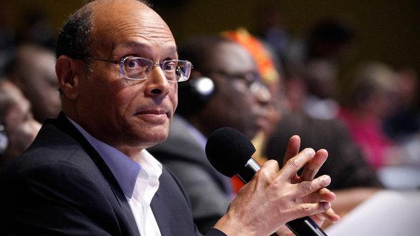 Tunesiens Präsident Moncef Marzouki; Foto: Reuters
