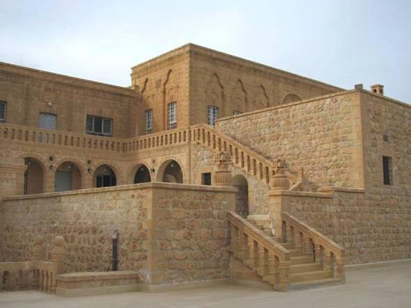 Ansicht auf das Kloster Mor Gabriel; Foto: Ekrem Eddy Güzeldere